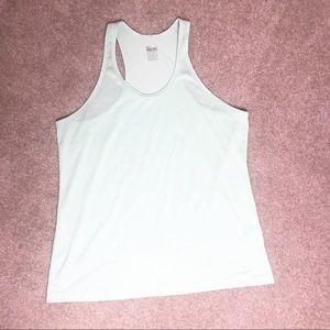 Nike Dry fit Mint Razorback tank top XL